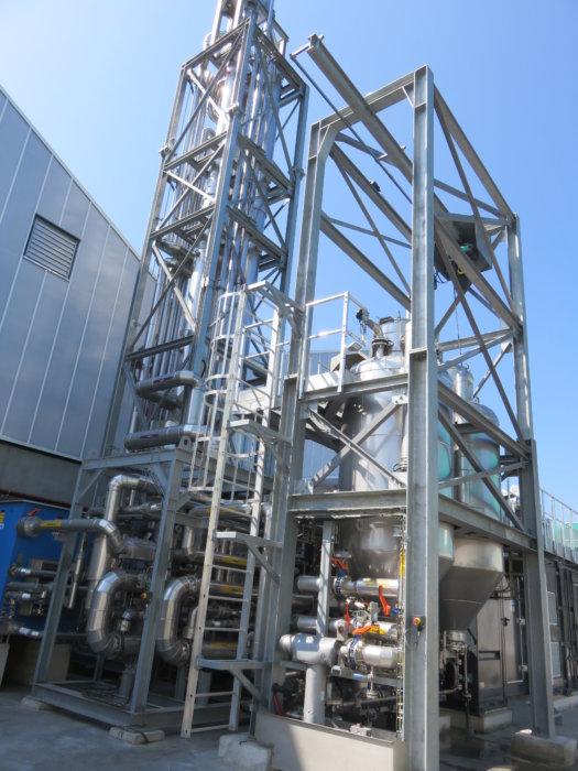 Unité de purification de Biogaz - Photographie publiée sur autorisation de la société Arol Energy